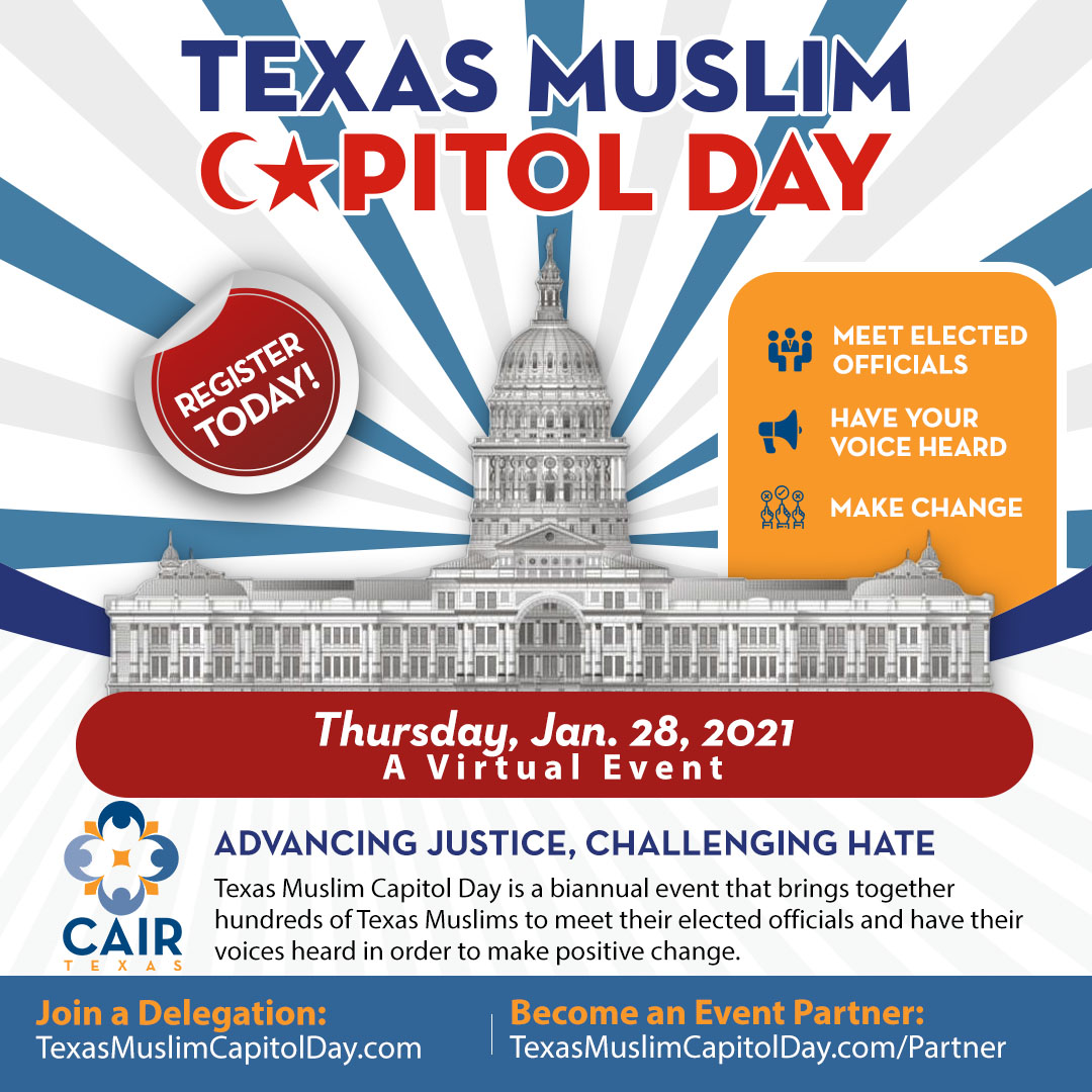 2021 Texas Muslim Capitol Day - Register Today!